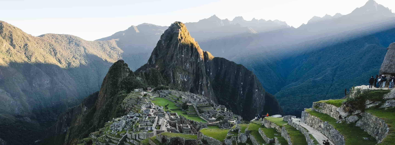 Vista image of Machu Pichu