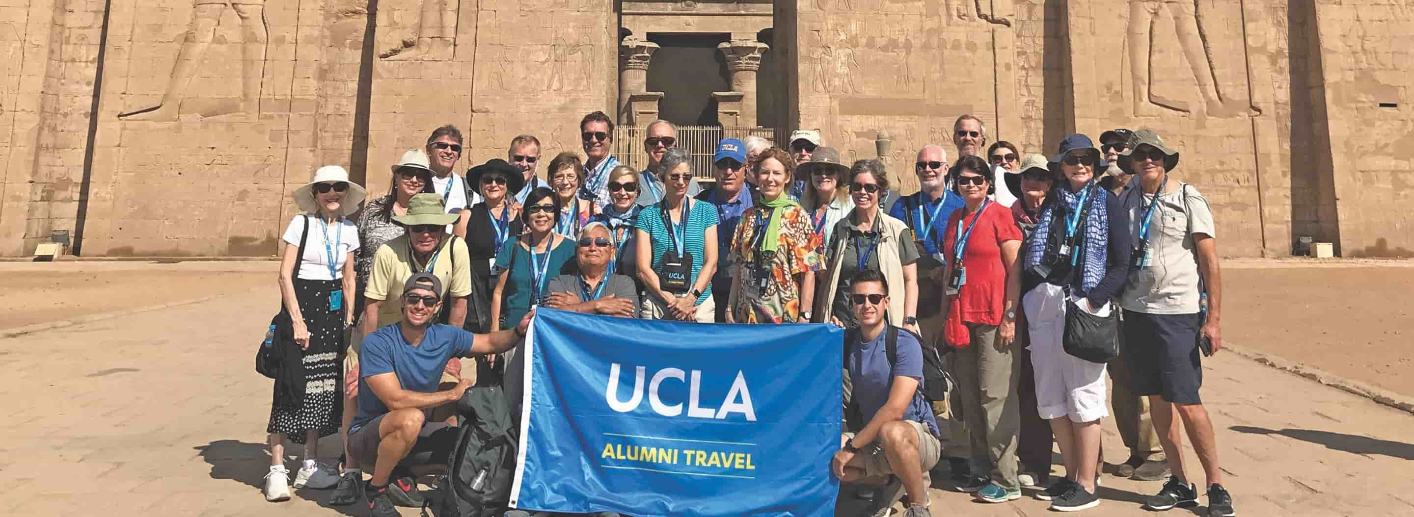 UCLA travel group picture.